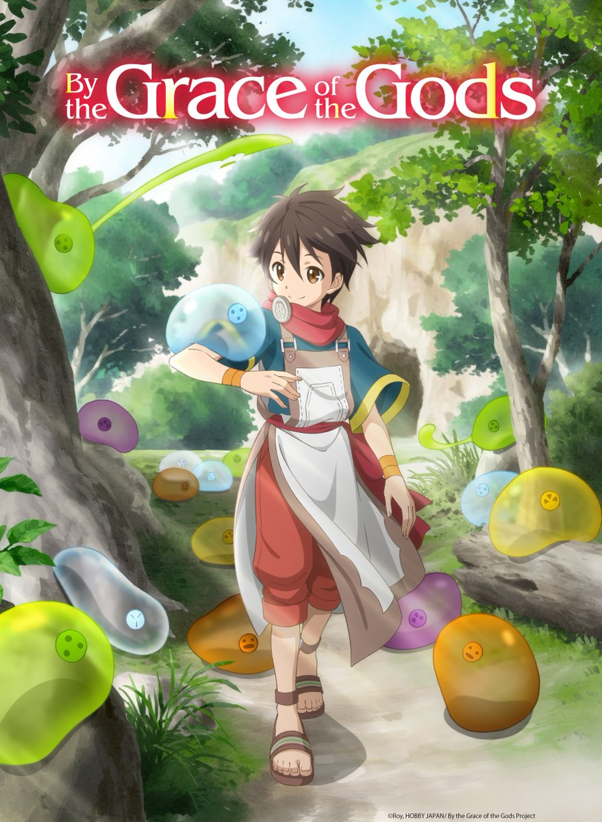 By the Grace of the Gods anime key visual